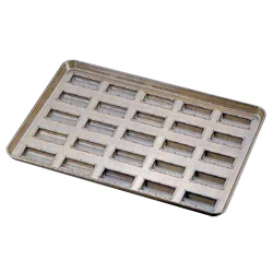 シリコン加工 半円筒型 天板 (25ヶ取) <25ヶ取>( キッチンブランチ )