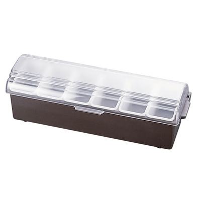 コンジメント ディスペンサー インサートパン レギュラータイプ 4743 6ヶ入 ブラウン(4743)<6ヶ入>( キッチンブランチ )