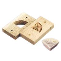 手彫物相型 (上生菓子用)扇 <扇>( キッチンブランチ )