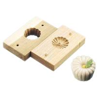 手彫物相型 (上生菓子用)スクイ菊 <スクイ菊>( キッチンブランチ )