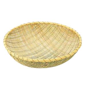 竹製 揚ざる (佐渡製) 60cm<60cm>( キッチンブランチ )