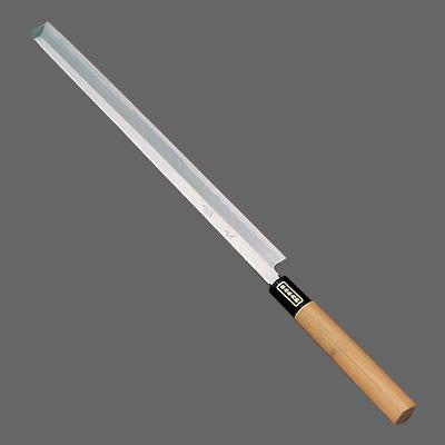 SA 佐文 蛸引 (木製サヤ付)(片刃) 33cm<33cm>( キッチンブランチ )
