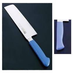 抗菌カラー庖丁 菜切(両刃) MNK-160 16cm マリンブルー(MNK-160)<マリンブルー>( キッチンブランチ )