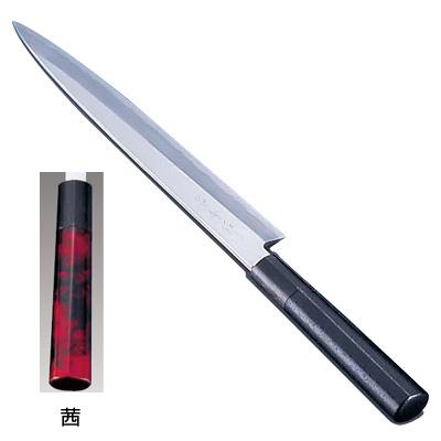 歌舞伎調和庖丁 忠舟 柳刃 33cm 茜<茜>( キッチンブランチ )