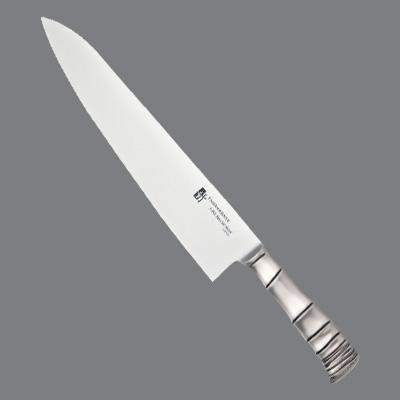 スーパーセール期間中全品ポイント10倍 TAMAHAGANE 竹 牛刀 日本製 両刃 TK-1104 24cm 輸入 キッチンブランチ