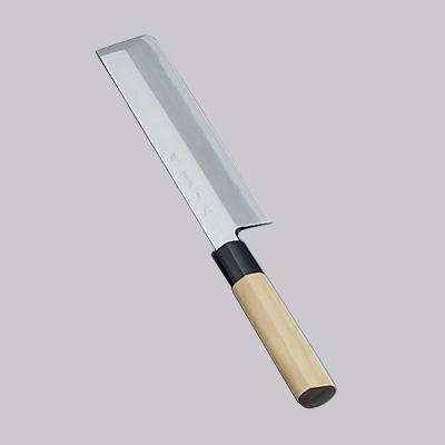 堺實光 上作(白鋼) 薄刃(片刃) 22.5cm 17515(17515)<22.5cm>( キッチンブランチ )