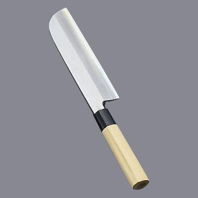 堺實光 匠練銀三(銀三鋼) 鎌薄刃(片刃) 16.5cm 37502(37502)<16.5cm>( キッチンブランチ )