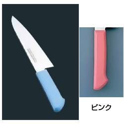 マスターコック 抗菌カラー庖丁 洋出刃(片刃) MCDK-270 ピンク(MCDK-270)<ピンク>( キッチンブランチ )