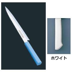 マスターコック 抗菌カラー庖丁 柳刃(片刃) MCYK-270 ホワイト(MCYK-270)<ホワイト>( キッチンブランチ )