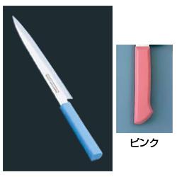 マスターコック 抗菌カラー庖丁 柳刃(片刃) MCYK-270 ピンク(MCYK-270)<ピンク>( キッチンブランチ )