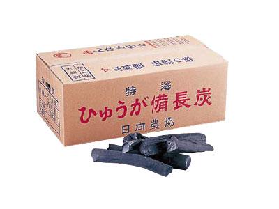 白炭 日向(宮崎) 備長炭 割(樫1級) 12kg( キッチンブランチ )