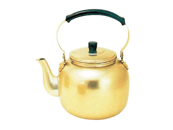アカオ しゅう酸アルマイト湯沸<4リットル>( キッチンブランチ )