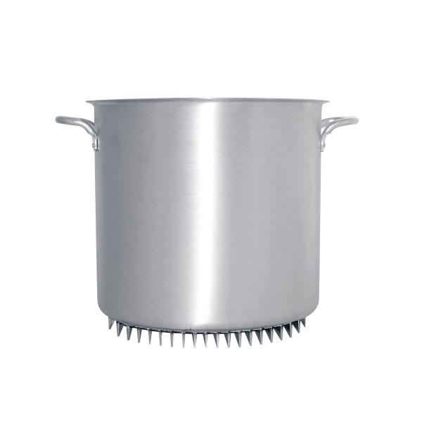 アルミ エコライン寸胴鍋(蓋無) 39cm 【受注生産品の為 約1か月かかります】( キッチンブランチ )