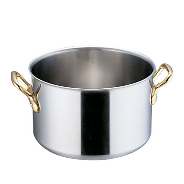 エコクリーン スーパーデンジ 半寸胴鍋 (蓋無) 21cm<21cm>( キッチンブランチ )