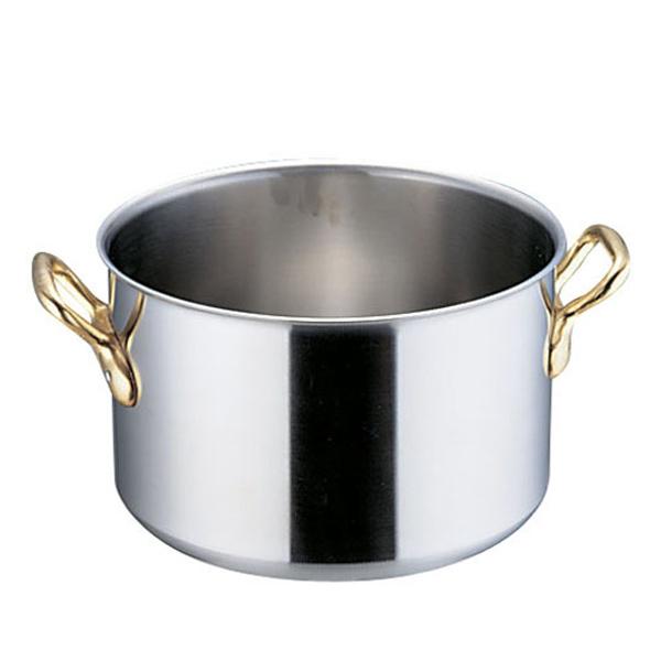 エコクリーン スーパーデンジ 半寸胴鍋 (蓋無) 27cm<27cm>( キッチンブランチ )