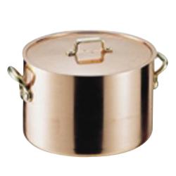 SA エトール銅 半寸胴鍋 24cm<24cm>( キッチンブランチ )