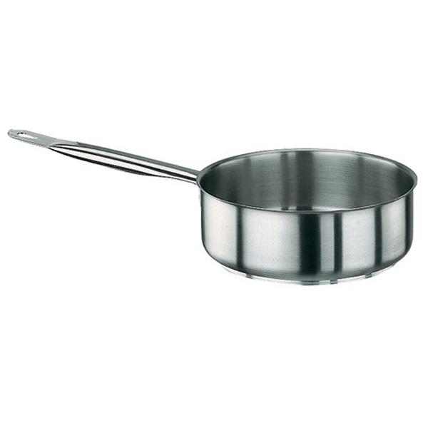 パデルノ 18-10 片手浅型鍋 (蓋無) 1008-36(1008-36)<36cm>( キッチンブランチ )