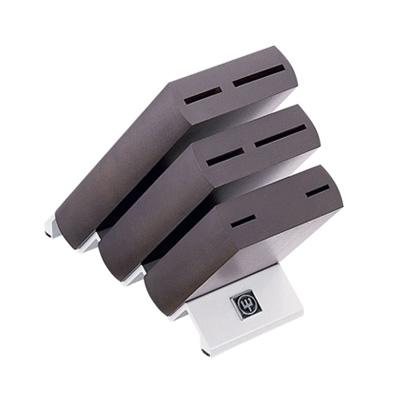 ヴォストフ ナイフブロック ブラウン 7251 115×285×H237mm <115×285×H237mm>( キッチンブランチ )