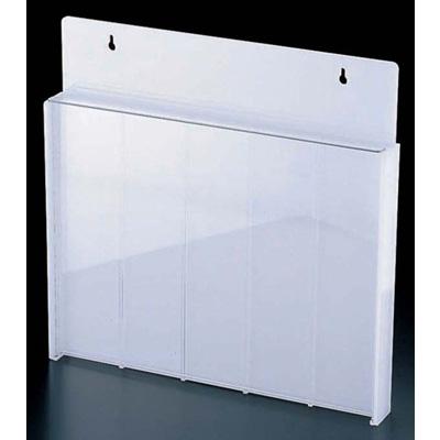 マアクリル 庖丁スタンド(釘打式) 450×45×H450mm <乳半色><450×45×H450mm>( キッチンブランチ )