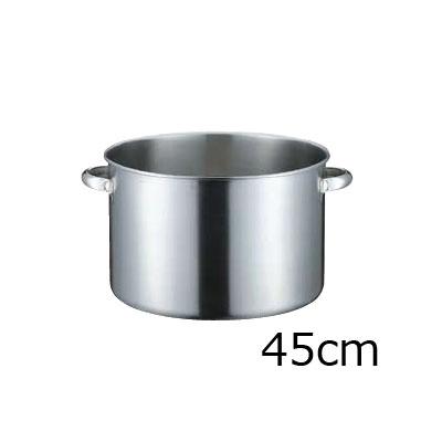 KO 19-5電磁対応半寸胴鍋 (蓋無) 45cm( キッチンブランチ )