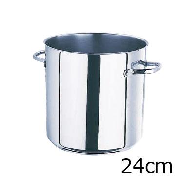 モービル プロイノックス寸胴鍋 (蓋無) 5933.24 24cm( キッチンブランチ )