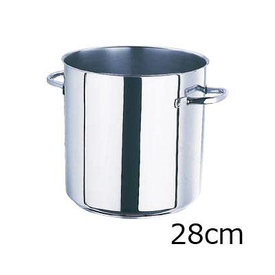 モービル プロイノックス寸胴鍋 (蓋無) 5933.28 28cm( キッチンブランチ )