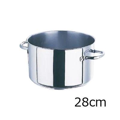 モービル プロイノックス半寸胴鍋 (蓋無) 5935.28 28cm( キッチンブランチ )