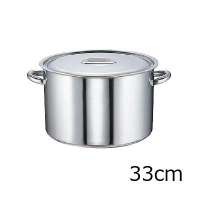 SA モリブデン 半寸胴鍋 (目盛付) 33cm( キッチンブランチ )