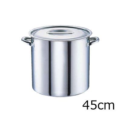 電磁モリブデン 寸胴鍋 目盛付 45cm( キッチンブランチ )