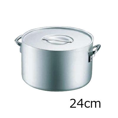 エコクリーン アルミ エレテック半寸胴鍋 24cm( キッチンブランチ )