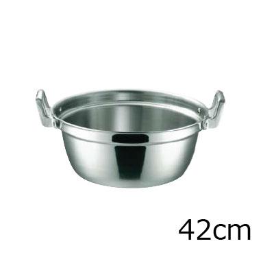 KO 19-0電磁対応 段付鍋 42cm( キッチンブランチ )