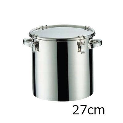 18-8 密閉式容器 CTH両手付タイプ (シリコンゴム)(CTH-27)( キッチンブランチ )