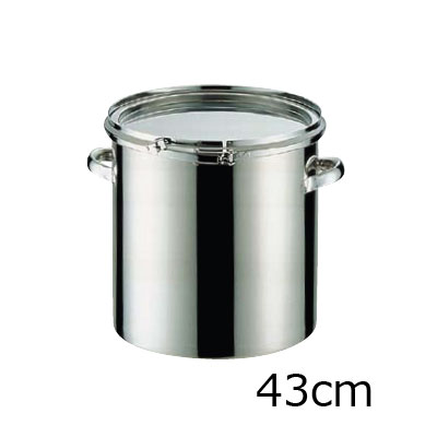 18-8 密閉式容器 CTLタイプ (シリコンゴム)(CTL-43)( キッチンブランチ )