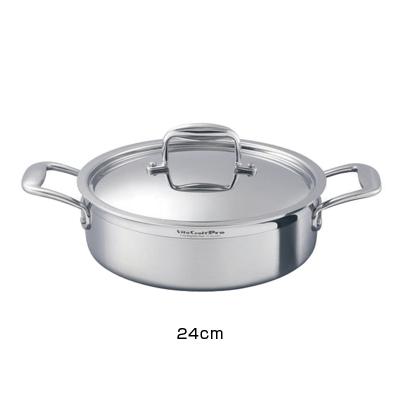 ビタクラフト VitaCraft プロ 外輪鍋 (蓋付) 24cm ( No.0233 )( キッチンブランチ )
