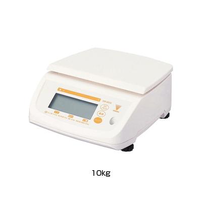 寺岡 防水型デジタル上皿はかり テンポ (DS-500N) 10kg <10kg>( キッチンブランチ )