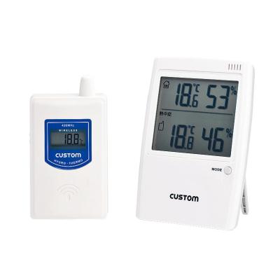 爆売り 無線温湿度モニター HI-01RF 新発売 キッチンブランチ 熱中症警告インジケータ付