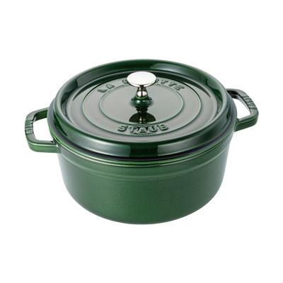 【希望者のみラッピング無料】 ストウブ ピコ・ココット ラウンド ラウンド ピコ・ココット 28cm <バジルグリーン>( キッチンブランチ ストウブ ):キッチンブランチ, free style:0b2d402a --- lingaexpo.pl
