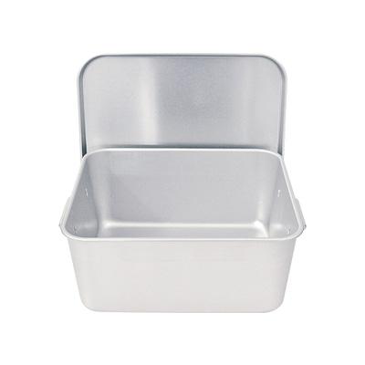 アルマイト 重なるパン箱(蓋付) TA-30(25~35人対応)( キッチンブランチ )