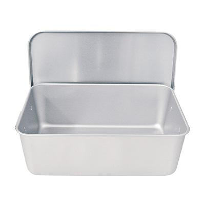 アルマイト 重なるパン箱(蓋付) TA-40(35~45人対応)( キッチンブランチ )