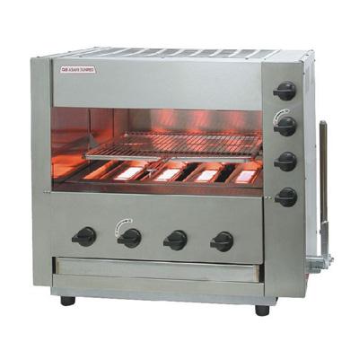 ガス 赤外線 同時両面焼グリラー 「武蔵」 SGR-44EX 13A 775×495×H670mm( キッチンブランチ )