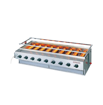 アサヒ ニュー黒潮 9号(バーナー 9本タイプ) SG-N28 13A 1100×533×H450mm( キッチンブランチ )
