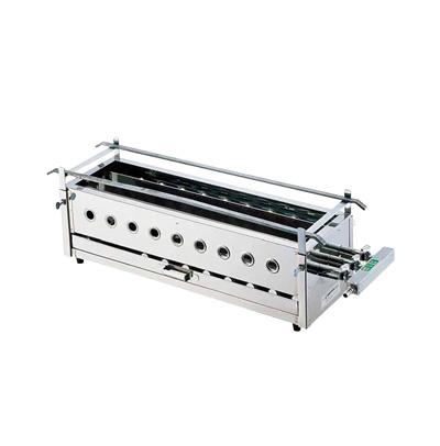 SA 18-0 三本パイプ焼台 大 12A 13A 超人気 専門店 キッチンブランチ 激安卸販売新品