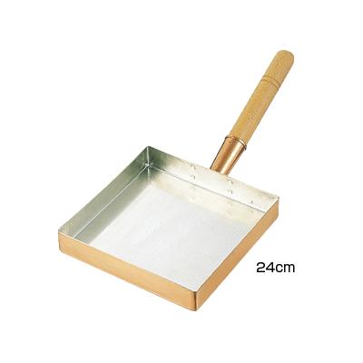 SA 銅 玉子焼 関東型 24cm <24cm>( キッチンブランチ )