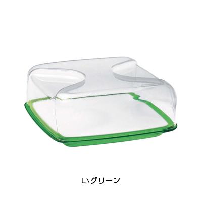 グッチーニ チーズボード L (カバー付) 2700.0044 <グリーン>( キッチンブランチ )