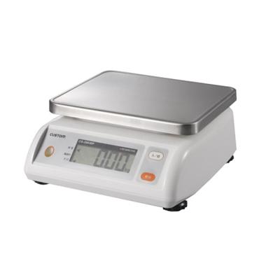 カスタム デジタル防水はかり (CS-5000WP)( キッチンブランチ )
