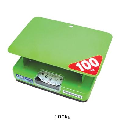簡易自動秤 ほうさく (7008) 100kg <100kg>( キッチンブランチ )