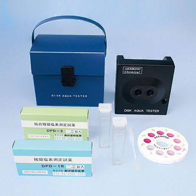 残留塩素低濃度 デスクアクアテスター AC-CA型(DPD法)( キッチンブランチ )