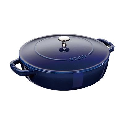 ストウブ ブレイザー・ソテーパン 24cm 40511-477 <G ブルー> ( キッチンブランチ )