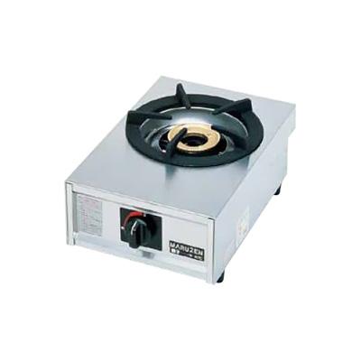 ガステーブルコンロ親子(自動点火) 一口コンロ M-201C LPガス 280×420×H192mm( キッチンブランチ )