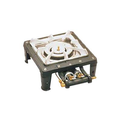 テーブルコンロ MD-701 (1連・マッチ点火) 12・13A 280×300×H150mm( キッチンブランチ )